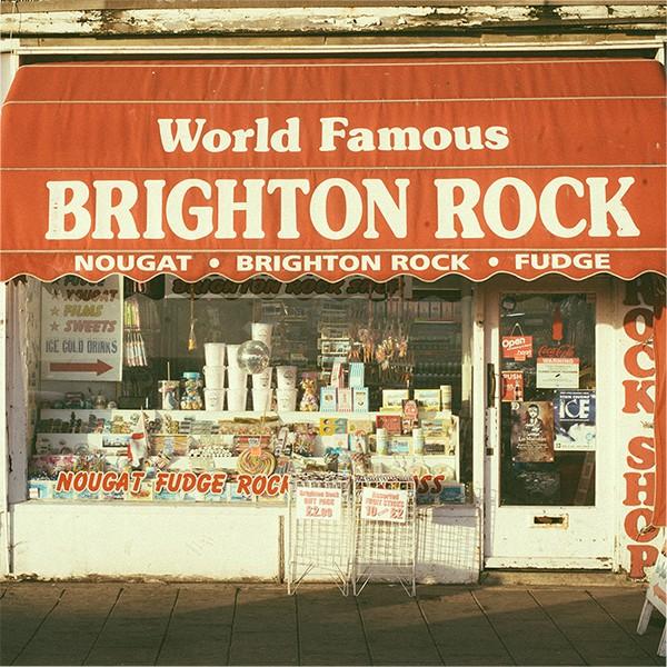 Brighton Rock Shop Greeting Card 1 Zoingimage