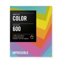 Colour Film with Colourful Frame For Polaroid 600-Type Cameras